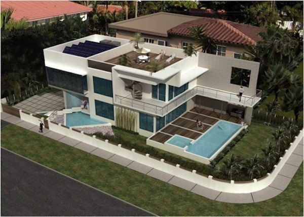 Wind Powered Net Zero Miami Beach Home Receives LEED Platinum