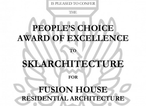 AIA Miami- 2020 People's Choice Award Winner for Residential Architecture
